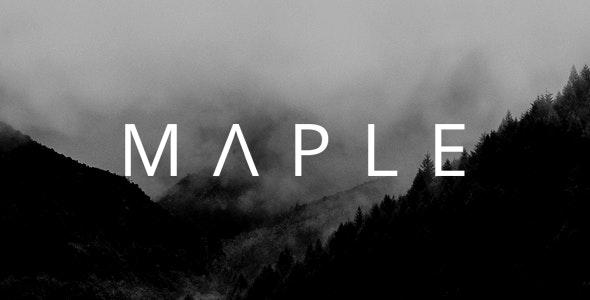Maple   Clean Minimal Multi-Purpose WordPress Theme - Creative WordPress