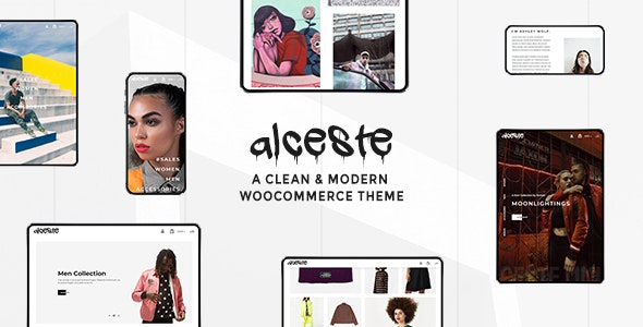 Alceste - A Clean and Modern WooCommerce Theme - WooCommerce eCommerce