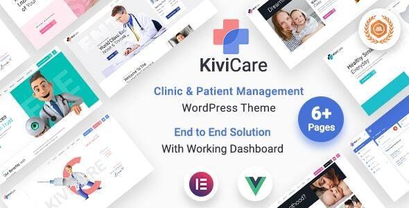 KiviCare v1.4.2 – Medical Clinic & Patient Management WordPress Theme