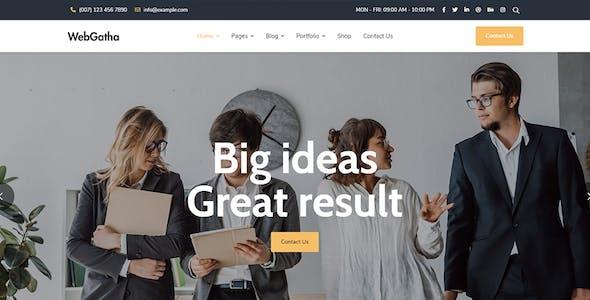 WebGatha - Multi-purpose WordPress Theme