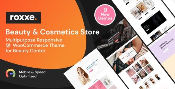 Roxxe - Beauty Salon WooCommerce Theme - WooCommerce eCommerce