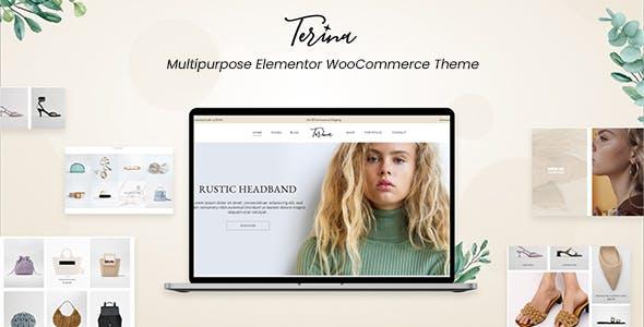 Terina - Multipurpose Elementor WooCommerce Theme