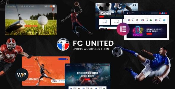 FC United | Football, Soccer & Sports WordPress Theme + RTL - Entertainment WordPress