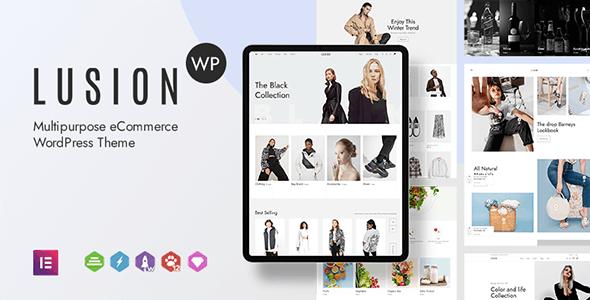 Lusion - Multipurpose eCommerce WordPress Theme - WooCommerce eCommerce