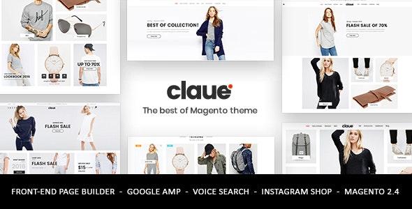 Claue - Clean, Minimal Magento 2 and 1 Theme - Fashion Magento