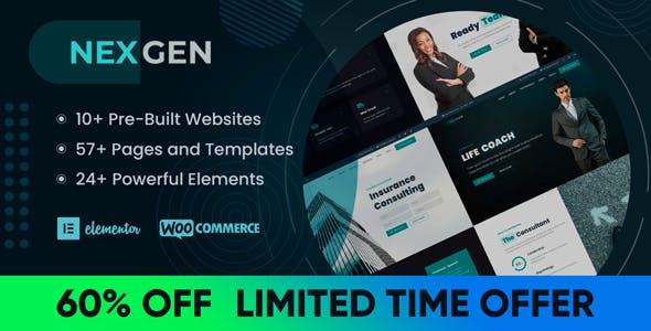 Nexgen - Elementor Theme for Consulting