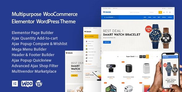 Venam - Elementor AJAX WooCommerce Ecommerce Theme - WooCommerce eCommerce