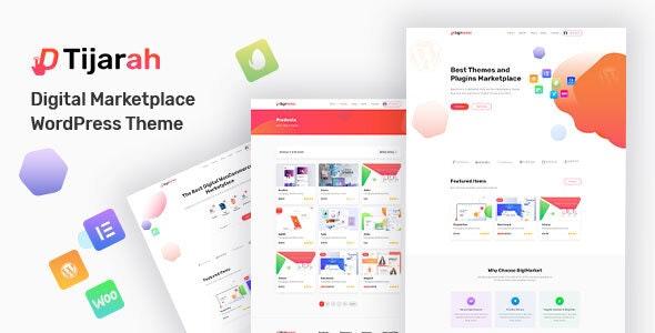 Tijarah   Digital Marketplace WooCommerce Theme - WooCommerce eCommerce