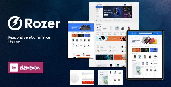 Rozer v1.0 – Digital eCommerce WordPress Theme