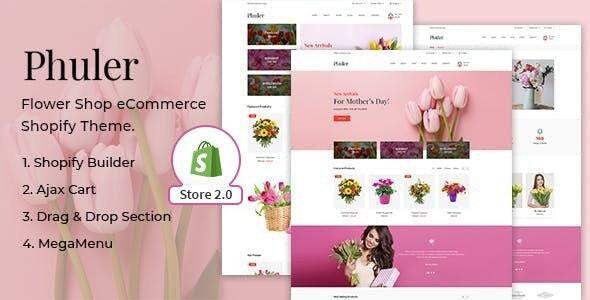 Phuler - Flower Shop Shopify Theme - Shopping Shopify