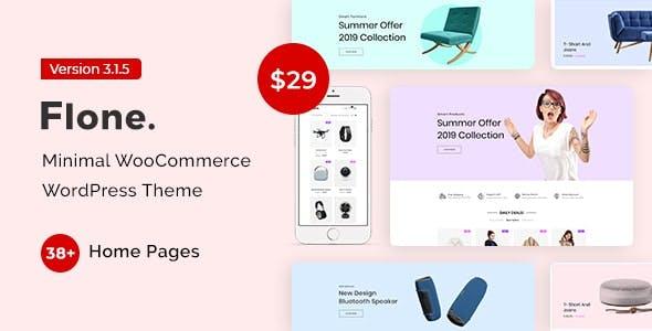 Flone – Minimal WooCommerce WordPress Theme
