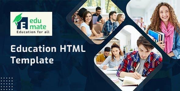 Edumate - Education HTML Template Using Bootstrap 5