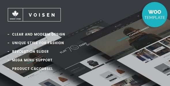 Voisen - WooCommerce Responsive Fashion Theme - WooCommerce eCommerce