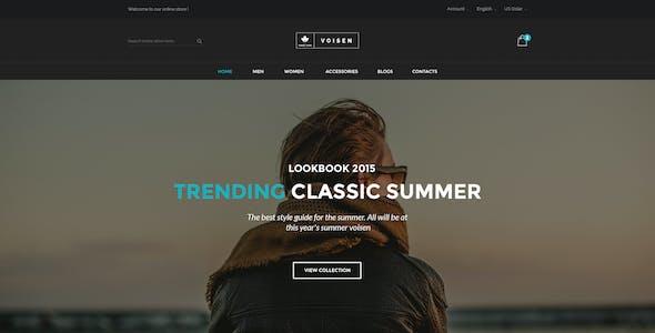 Voisen - WooCommerce Responsive Fashion Theme