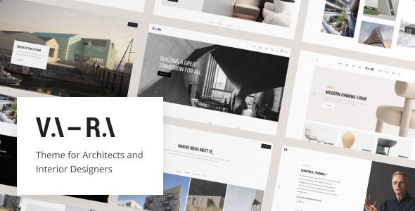 Vara v1.2 – Architecture WordPress Theme