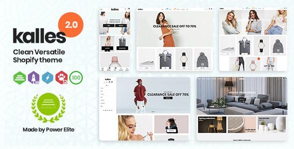 Kalles v2.5.1 – Clean, Versatile, Responsive Shopify Theme – RTL support