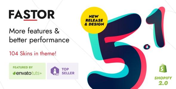 Fastor v5.2 – Multipurpose Shopify Sections Theme