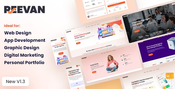 Reevan - Web & Marketing Agency HTML5 Template