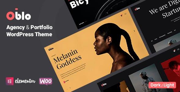 Oblo - Creative Portfolio & Agency Theme