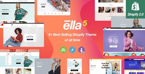 Ella v5.0.2 – Multipurpose Shopify Sections Theme