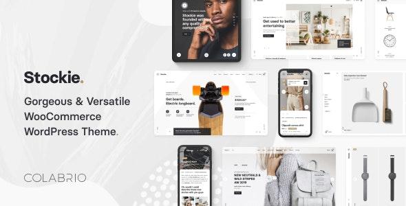 Stockie - Modern Multi-Purpose WooCommerce Theme - WooCommerce eCommerce