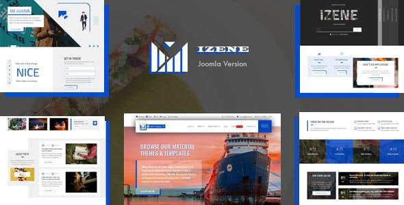 Izene - Multipurpose Joomla Template