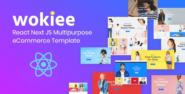 Wokiee - Multipurpose React eCommerce Template