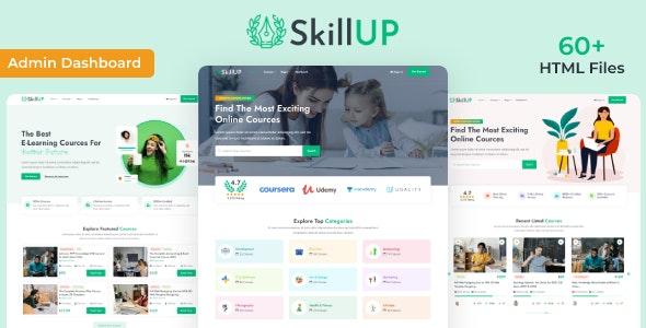 SkillUp v1.0 – Online Education HTML Template