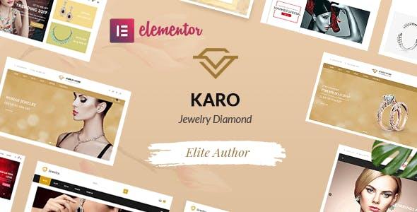 Karo   Jewelry Diamond WooCommerce WordPress Theme