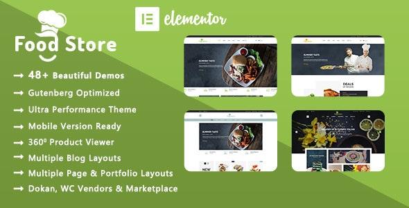 Food Store | Organic & Restaurant WooCommerce WordPress Theme - WooCommerce eCommerce