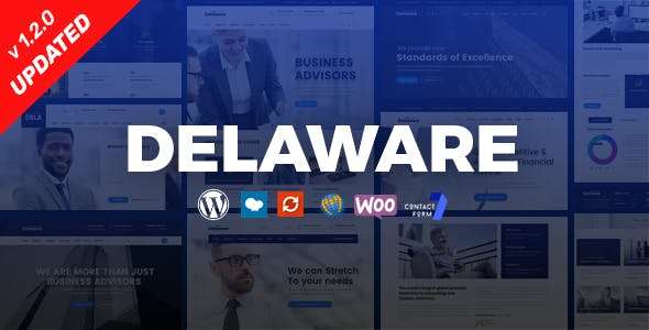 Delaware - Consulting and Finance WordPress Theme