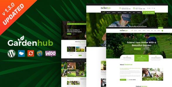 Garden HUB - Lawn & Landscaping WordPress Theme
