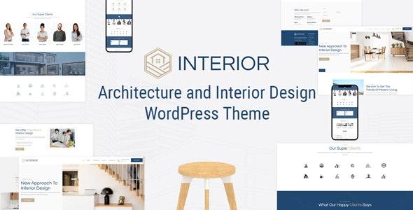 Interior -  Architecture and Interior Design WordPress Theme - Portfolio Creative