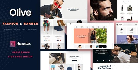 Olive - Fashion & Barber Store Prestashop 1.7 Theme