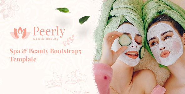 Peerly v1.0 – Spa & Beauty Bootstrap 5 Template