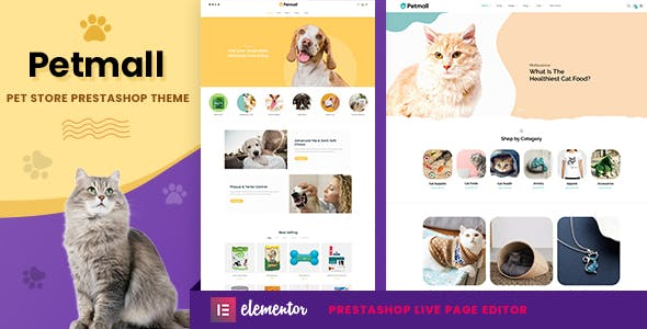 Petmall - Pet Shop, Animal Store Prestashop 1.7 Theme