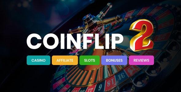 Coinflip - Casino Affiliate & Gambling WordPress Theme - News / Editorial Blog / Magazine
