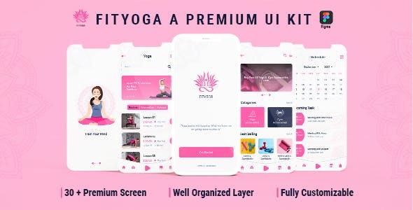 Fityoga - Yoga figma Template