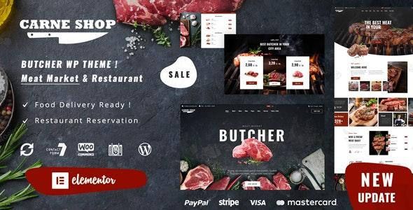 Carne - Butcher & Meat Restaurant - Food Retail