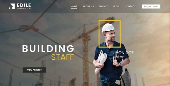 Edile - Construction WordPress