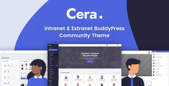 Cera v1.1.7 – Intranet & Community Theme