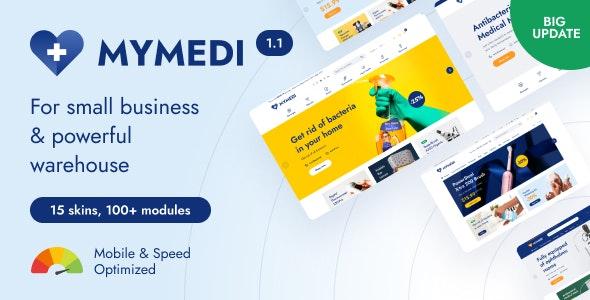 MyMedi - eCommerce vue Template - Retail Site Templates