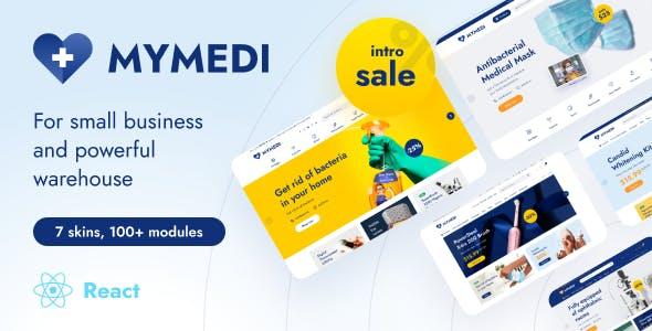 MyMedi - eCommerce React Template