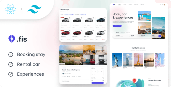 Chisfis - Online Booking React Template - Travel Retail