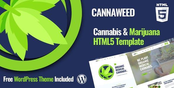 Cannaweed   Marijuana HTML5 Template