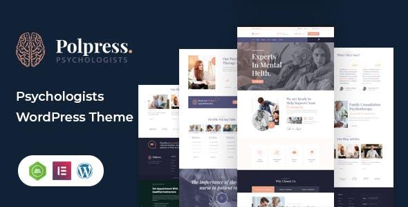 Polpress – Psychiatric therapy WordPress Theme