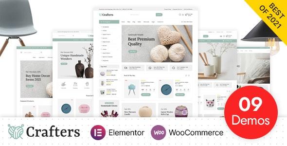 Crafters - Art and Decor WooCommerce Theme - WooCommerce eCommerce