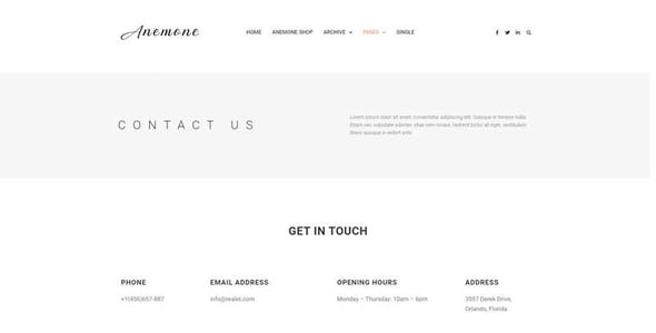 Anemone - Blog & Magazine Elementor Template Kit
