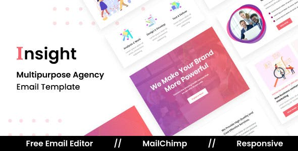 Insight Agency - Multipurpose Responsive Email Template