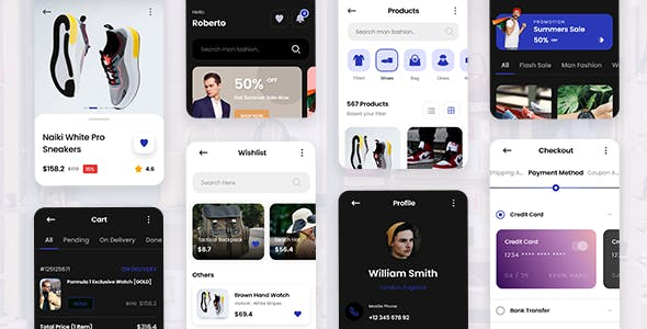 Gaya - Fashion Mobile App Template